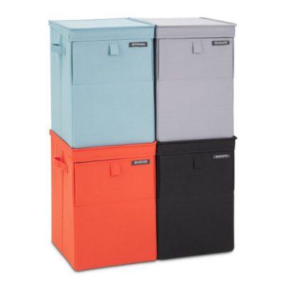 Cajas para ropa apilables y plegables