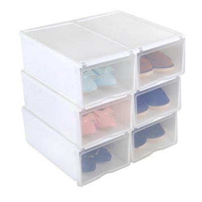 Cajas para zapatos apilables