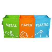 Bolsas de reciclaje plegables