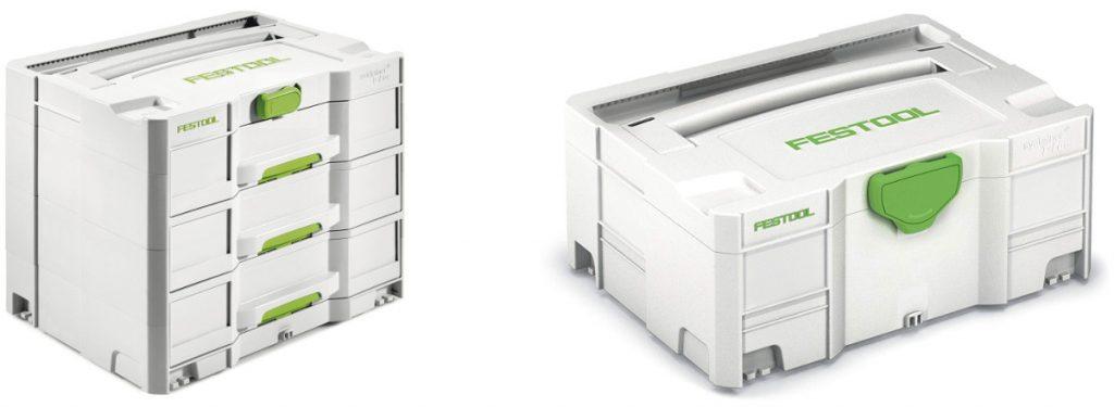 Sistema de almacenamiento de herramientas Festool Systainers