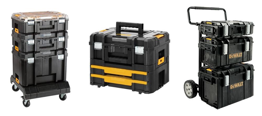 Cajas de herramientas apilables DeWalt T-Stak