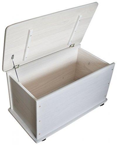 Baúl de madera para guardar juguetes