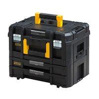 Maleta de herramientas con doble cajón