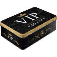 Caja metálica decorativa VIP