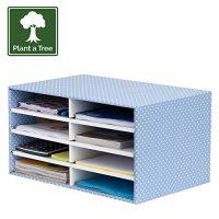 Clasificador Bankers Box de cartón reciclado