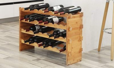 Botellero de vino modular