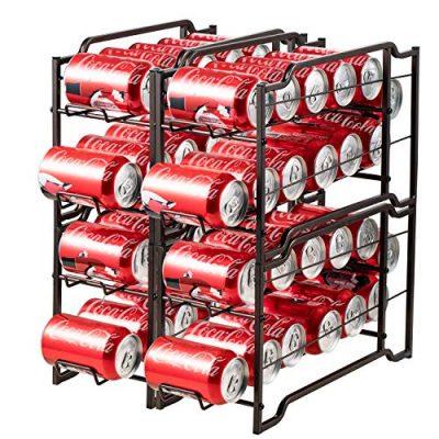 Organizador de latas apilables